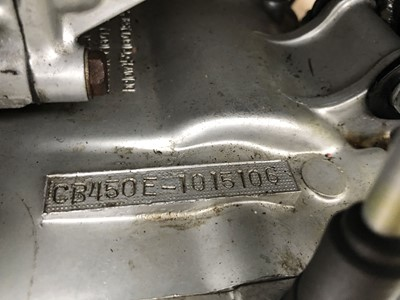Lot 17-1967 Honda CB450 Black Bomber