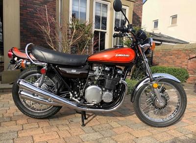 Lot -1973 Kawasaki Z1