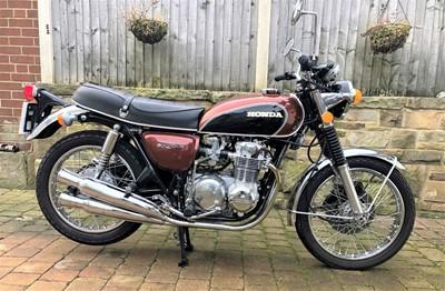 Lot -1973 Honda CB500 K2