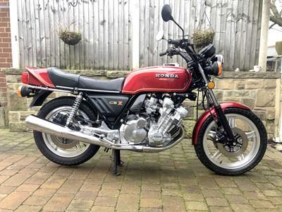 Lot -1979 Honda CBX1000Z