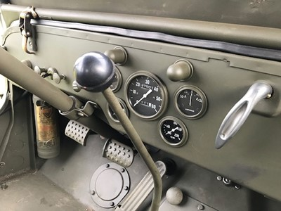 Lot 29-1942 Willys MB Jeep