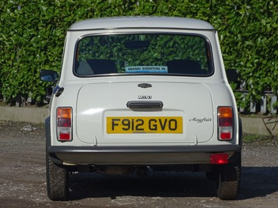 Lot 9-1988 Austin Mini Mayfair