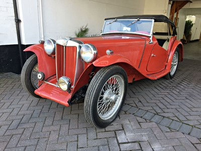 Lot 37 - 1946 MG TC