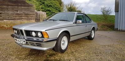 Lot 105-1981 BMW 635 CSi