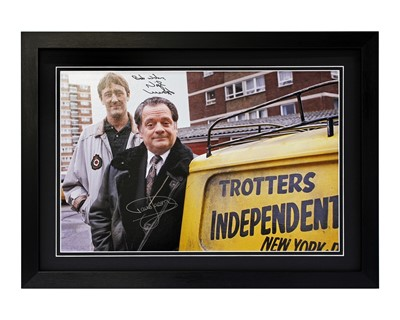 Lot 4 - Only Fools and Horses TV Publicity Poster (Signed)