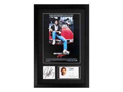 Lot 10-Beverly Hills Cop / Eddie Murphy Autograph Presentation
