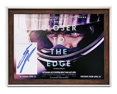 Lot 12 - Closer to the Edge / Guy Martin Autograph Presentation