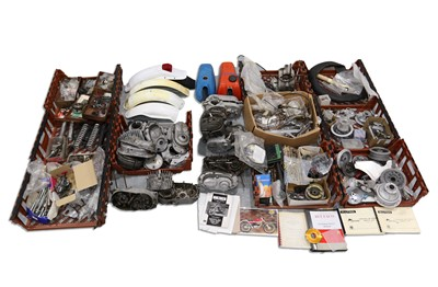 Lot 16 - Quantity of Bultaco Trials Components / Spare Parts