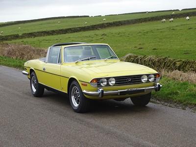 Lot 45-1973 Triumph Stag