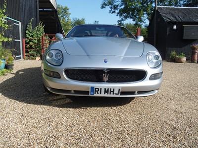 Lot 8-2003 Maserati 4200 GT Spyder Cambiocorsa