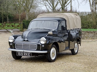 Lot 6-1961 Morris Minor 1000 Pickup