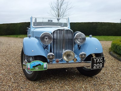 Lot 32-1938 AC 16/70 Drophead Coupe
