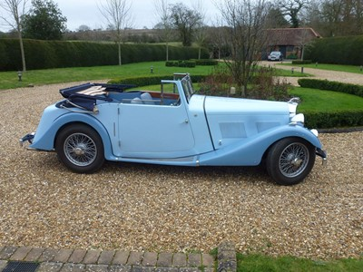 Lot 32-1938 AC 16/70 Drophead Coupe