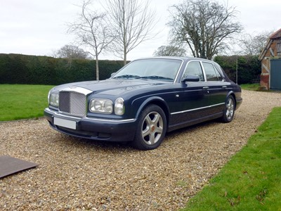 Lot 16-2002 Bentley Arnage Red Label