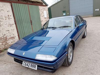 Lot 10 - 1986 Ferrari 412