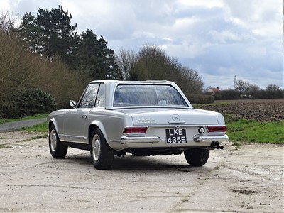 Lot 91-1967 Mercedes-Benz 250 SL