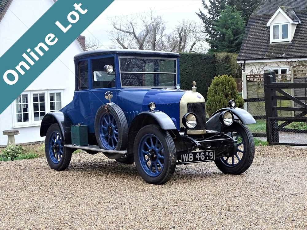 Lot 39-1925 Morris Cowley 'Bullnose' Doctor's Coupe