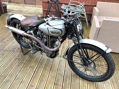 Lot -1937 Norton Model 18 Trials Evocation