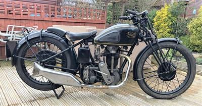 Lot -1935 Velocette KSS