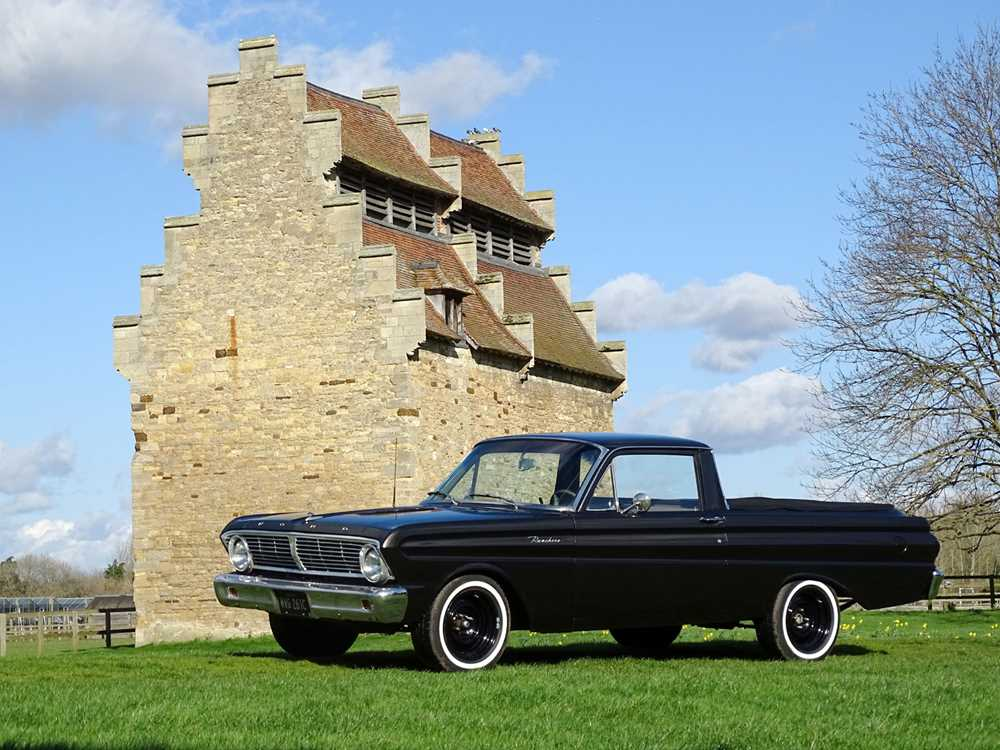 Lot 20-1965 Ford Falcon Ranchero Pickup