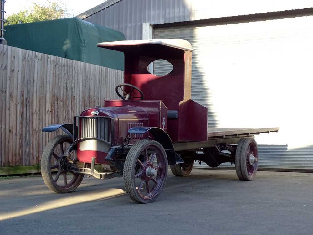 Lot 59-1924 Ruggles Flatbed Truck