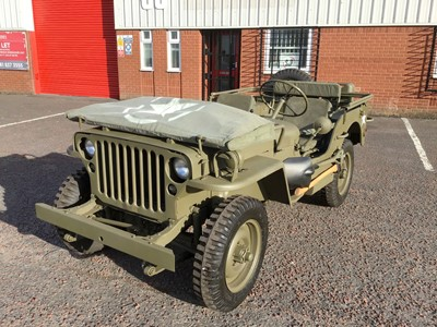 Lot 81-1942 Ford GPW Jeep