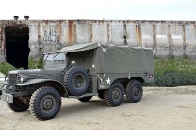 Lot 38-1943 Dodge WC63 6x6