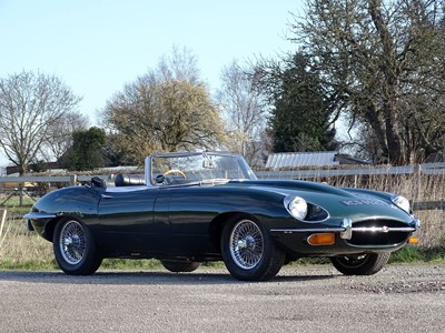 Lot 85-1969 Jaguar E-Type 4.2 Roadster