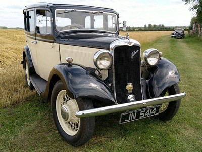 Lot 19-1935 Hillman Minx Six Light Saloon