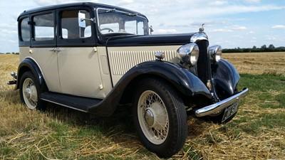 Lot 19-1935 Hillman Minx Six Light Saloon