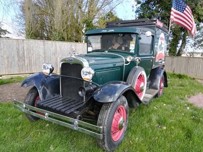 Lot 119-1930 Ford Model A 'Hot Dog' Truck