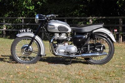 Lot -1958 Triumph T110 Tiger