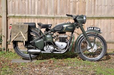 Lot -1956 Triumph TRW MK2