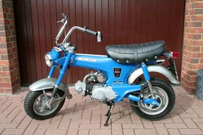 Lot -1972 Honda ST50