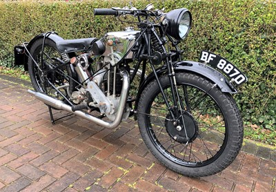 Lot -1929 Excelsior Deluxe