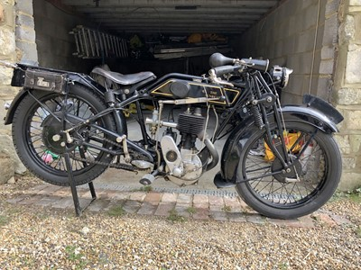 Lot -1929 Sunbeam Model 6