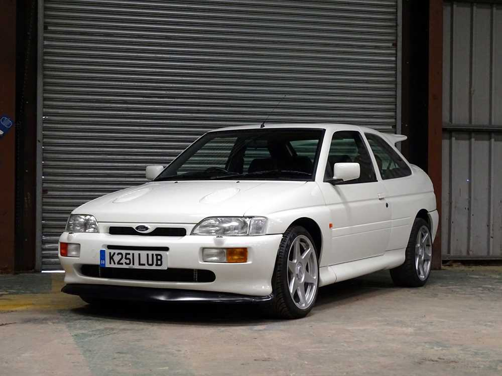 Lot -1993 Ford Escort RS Cosworth
