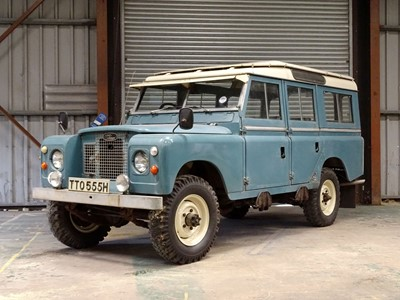 Lot -1970 Land Rover Series IIA Station Wagon