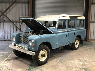 Lot -1970 Land Rover 109