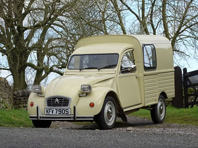 Lot -1978 Citroen 2CV AKS 400 Fourgonette