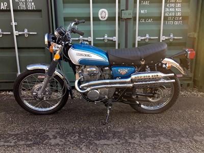 Lot -1972 Honda CL350 K5