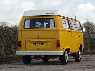 Lot -1976 Volkswagen Type 2 Westfalia Camper Van