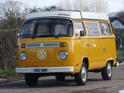 Lot -1976 Volkswagen Type 2 Westfalia Camper Van