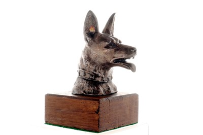 Lot 7-Alsatian Accessory Mascot