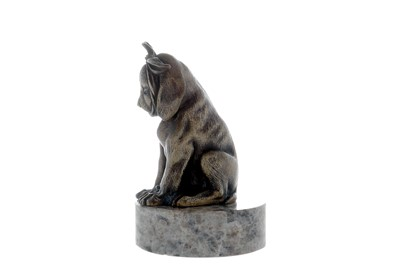 Lot 8-Puppy With Toothache Accessory Mascot