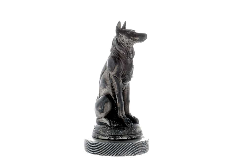 Lot 9-Seated Dog Accessory Mascot