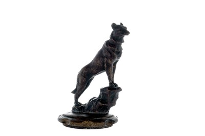 Lot 15-Dog on a Rock Accessory Mascot