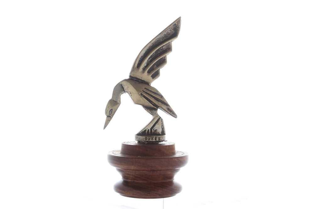 Lot 21-Art-Deco Bird Accessory Mascot