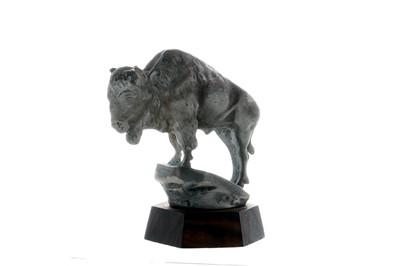 Lot 28-Buffalo Accessory Mascot