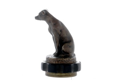 Lot 29-Seated Dog Accessory Mascot